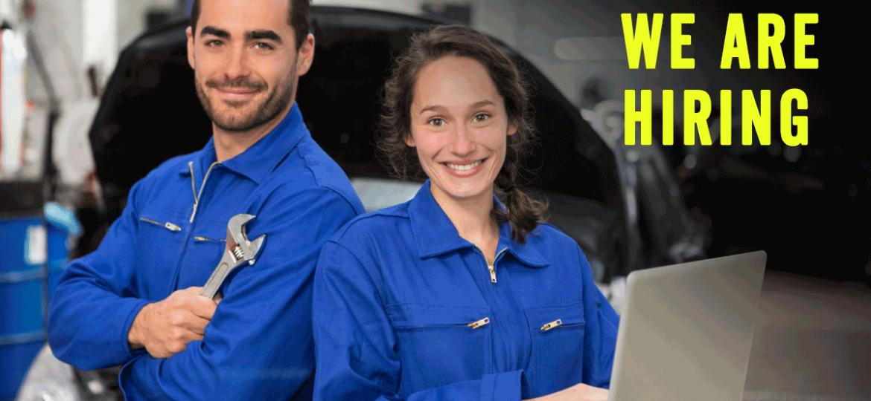 JHG Automotive is hiring